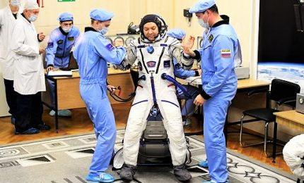 La navetta Soyuz è atterrata in Kazakistan