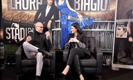 Laura Pausini e Biagio Antonacci insieme in tour negli stadi