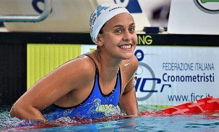 Mondiali vasca corta, Carraro di bronzo nei 50 rana