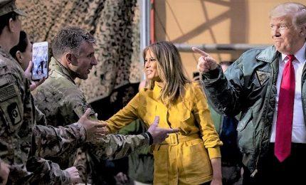 """La visita in Iraq """"senza preavviso"""" di Trump irrita Baghdad, coro di condanne dai politici"""