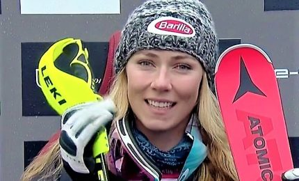 Shiffrin da urlo, stravince primo slalom del 2019