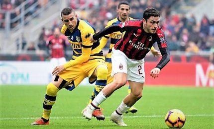 Milan-Parma 2-1, Cutrone e Kessie stendono i gialloblu