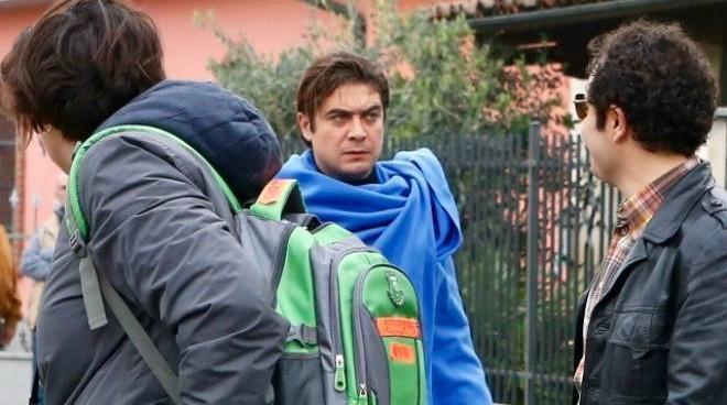 """Concluse le riprese de """"Lo spietato"""" con Riccardo Scamarcio"""