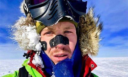 Traversata Antartide da solo e senza aiuti, in 54 giorni ha percorso 1.600 chilometri