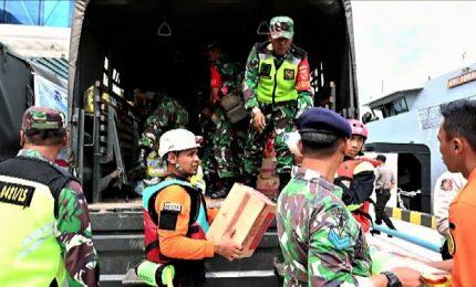 Tsunami in Indonesia, gli sfollati salgono a 40.000
