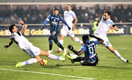 Zapata-gol e l'Atalanta vola, Lazio ko 1-0
