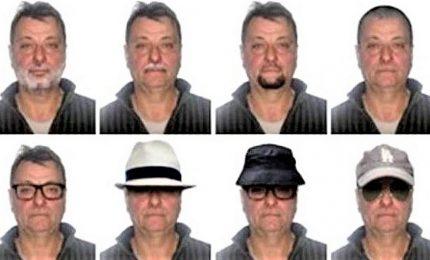 """La polizia brasiliana diffonde 20 fotofit di Battisti. I federali: """"E' in stato San Paolo"""""""