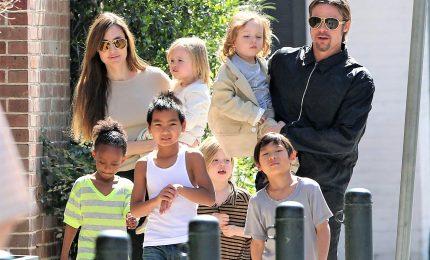 Angelina Jolie e Brad Pitt, accordo per affidamento dei figli