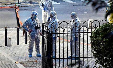 Esplosione davanti a una chiesa ad Atene, due feriti