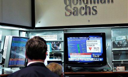 Goldman Sachs, Pil dell'Italia calerà dell'11,6% nel 2020