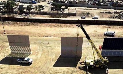 Via libera da Camera a fondi per muro al confine del Messico