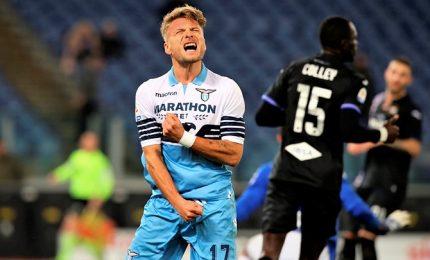 Lazio-Sampdoria 2-2, altalena di gol ed emozioni