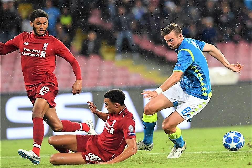 """Salah """"spegne"""" il Napoli, azzurri fuori dalla Champions"""