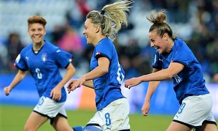 Mondiali donne: Italia con Brasile, Australia, Giamaica