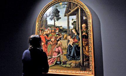 L'Adorazione dei Magi del Perugino a Milano per Natale