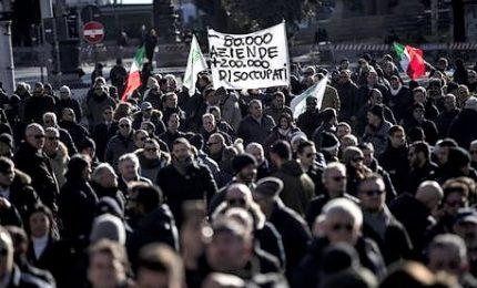 "Sit-in Ncc a Roma: ""Vergogna, a rischio 200mila famiglie"""
