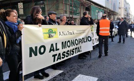 La protesta degli Ncc, a Roma da tutta Italia contro il governo