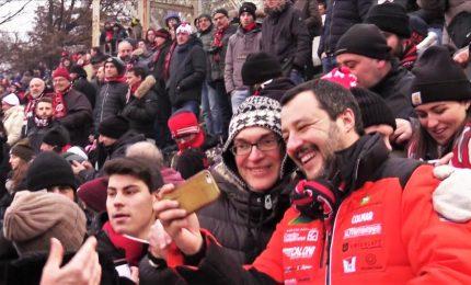 Salvini con ultras Milan, io indagato tra indagati. Ed è polemica
