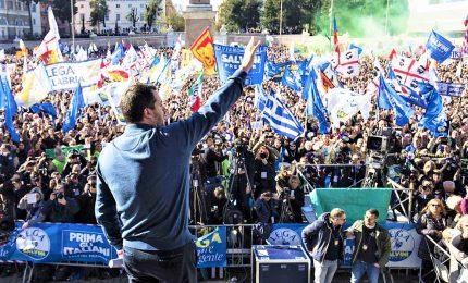 """Salvini: """"Datemi mandato per trattare con l'Europa"""""""