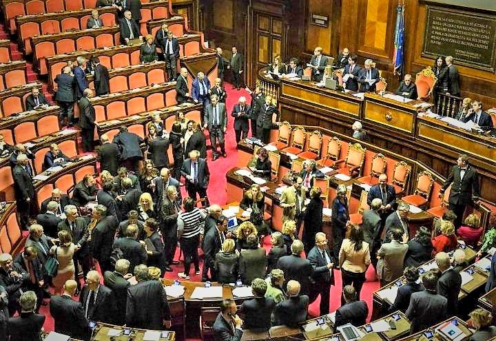 Giallorossi a Senato rischiano non avere maggioranza assoluta