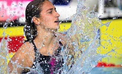 Mondiali vasca corta, Quadarella argento negli 800 stile