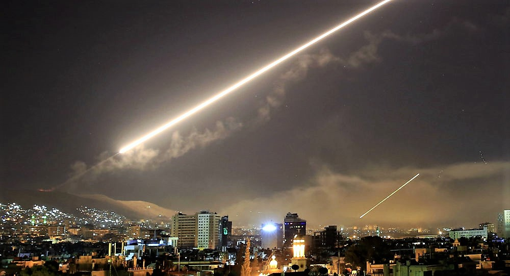 Missile lanciato su Israele dalla Siria