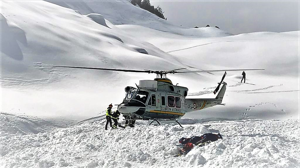 Quattro sciatori dispersi a Courmayeur, ricerche sospese