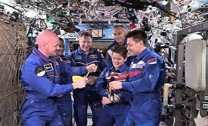 Cambio di comando a bordo della Stazione orbitante
