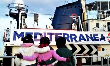 """Mediterranea, figlio del ministro Tria """"è uno di noi"""""""