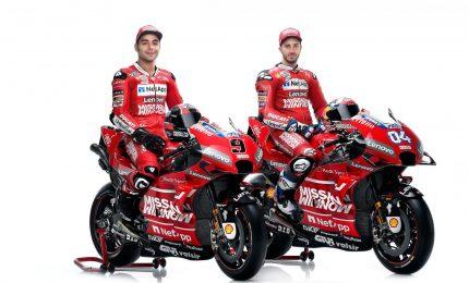"""Presentata la Ducati: """"Obiettivo vincere il mondiale 2019"""""""