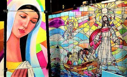 """A Panama un """"murales"""" lungo 10 metri pronto per il Papa"""