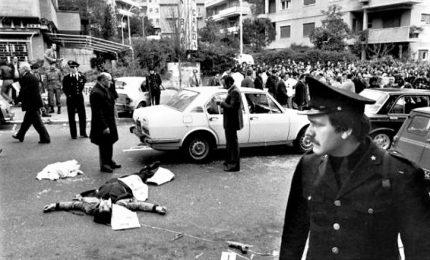 Cerimonia in via Fani per anniversario rapimento Moro