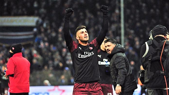 Cutrone piega la Samp, Milan ai quarti