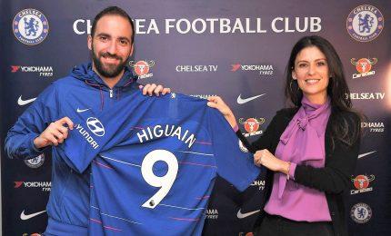 """Higuain: """"Un sogno giocare in Premier e con Sarri"""""""
