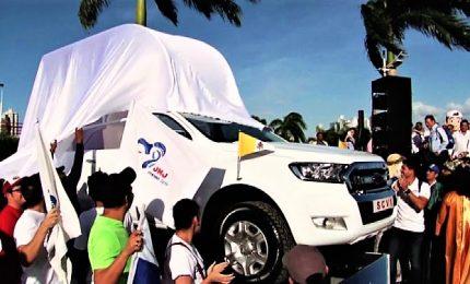 Il Papa a Panama a fine gennaio, arrivata la papamobile
