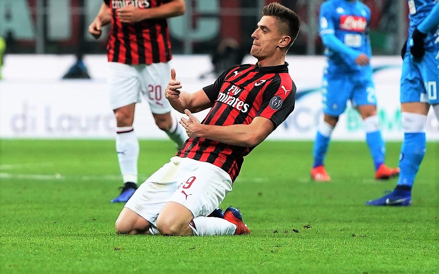 """Piatek stende il Napoli, Milan vola in semifinale. """"E solo inizio"""""""