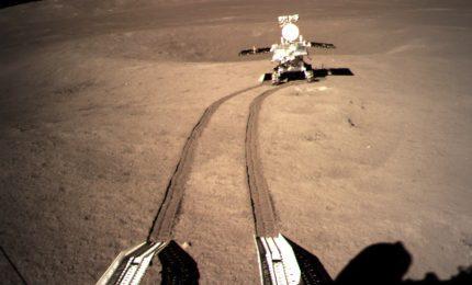 Luna, prima immagine panoramica dalla sonda cinese Chang'e 4