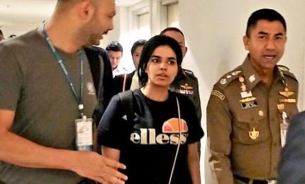 Bangkok: ragazza saudita barricata lascia l'aeroporto con Uhcr