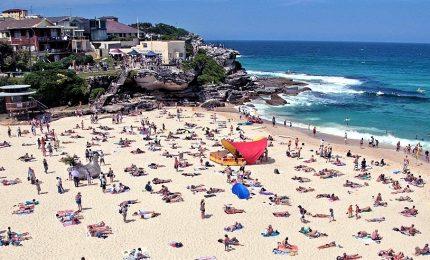 Ondata di caldo record in Australia, sfiorati i 50 gradi