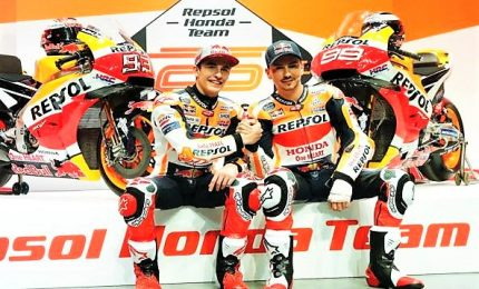 Marquez e Lorenzo, la Honda presenta il suo dream Team