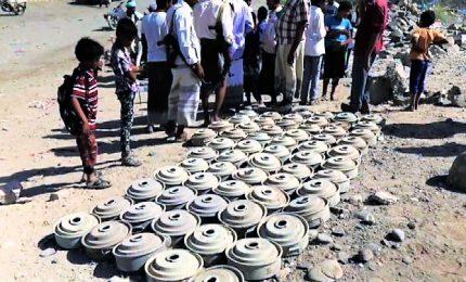 Mine antiuomo in Yemen, la denuncia di Medici senza frontiere