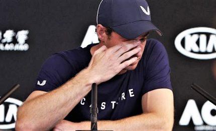 Andy Murray dice addio al tennis, il ritiro tra le lacrime