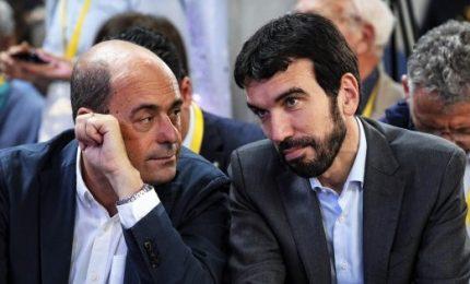 Pd, Zingaretti in vantaggio di 10 punti su Martina