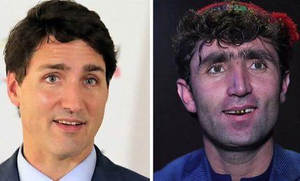 Il cantante e il premier canadese, spopola in Afghanistan il sosia di Justin Trudeau