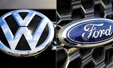 Volkswagen e Ford siglano alleanza globale, primi modelli in 2022