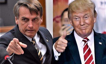 Nasce alleanza Bolsonaro-Trump. Superministro brasiliano omaggia Falcone e Borsellino