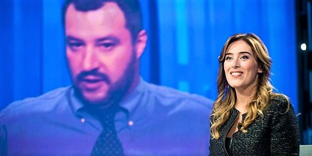 Salvini alla cena vip: