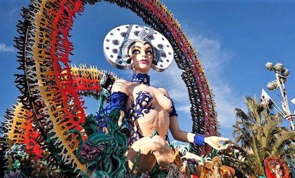 E' donna il Carnevale di Viareggio edizione 2019
