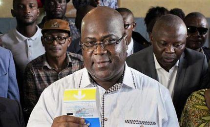 In Rd Congo vince leader opposizione, succede a Kabila. Ha riportato oltre 7 milioni di voti, ma c'è chi denuncia brogli