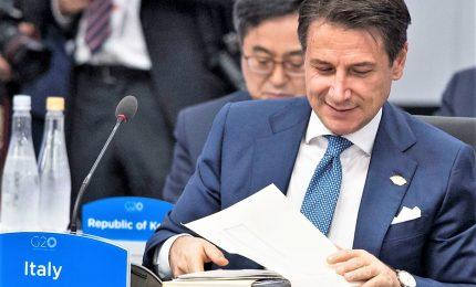 Italia-Cina, Conte: nostra visione e strategia Ue coincidono